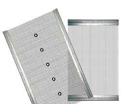 Fine wire mesh screens